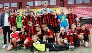 2005m. gim. vaikų  futbolo turnyras