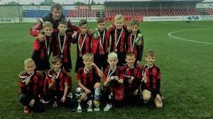 Tauragėje vykusiam 2007m. gim. futbolo turnyre tauragiškiai iškovojo antrąją vietą
