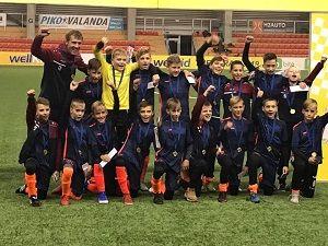 Tauragės U-13 komanda ir vėl tarp stipriausių Lietuvoje!