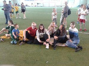 """Socialinio projekto """"Pažink futbolo aikštėje"""" akimirkos-gallery-image-5"""