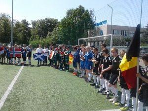 """Socialinio projekto """"Pažink futbolo aikštėje"""" akimirkos-gallery-image-4"""