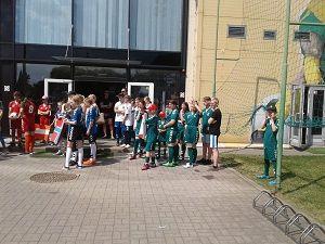 """Socialinio projekto """"Pažink futbolo aikštėje"""" akimirkos-gallery-image-2"""
