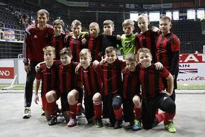 Tarptautiniame berniukų futbolo turnyre laimėjo IV vietą