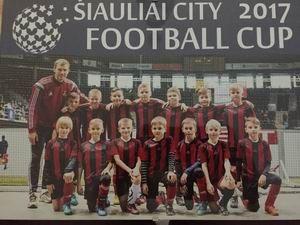 Šiauliai city 2017 football cup