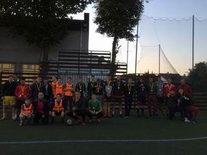 Futbolo turnyras Mokytojų dienai paminėti