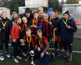 Futbolo turnyras 2005m. gim. RUDUO-CUP taurei laimėti