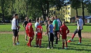 Tauragės savivaldybės  futbolo federacijos UEFA masinio futbolo savaitė.