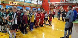 Futbolo turnyras TFM taurei laimėti